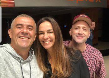 Guto, Suzana Garcia e Paulo Gustavo | Foto: Reprodução do Instagram