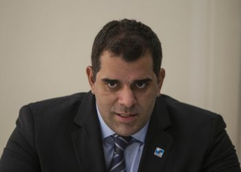 Secretário de Desenvolvimento Lucas Tristão