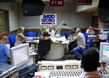 Estudio da radio Globo SP