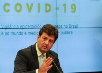 Ministro da Saúde Henrique Mandetta