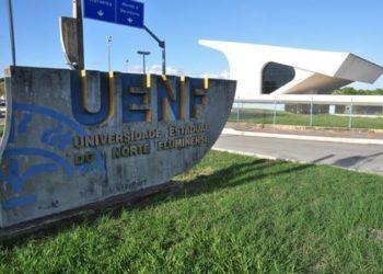 campus da Uenf, em Campos-RJ