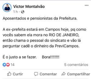 Victor Montalvão - Campos-RJ