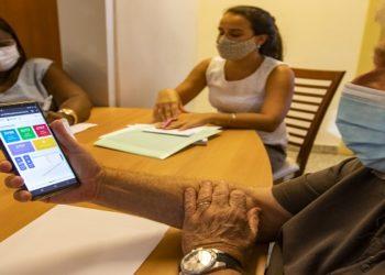 O sistema também apresenta informações sobre os servidores e cidadãos já imunizados (Foto: Bruno Campos /Arquivo):