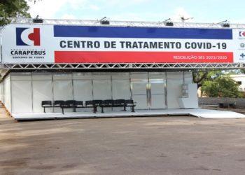 Servidores públicos de Carapebus, diretor de hospital e empresários são apontados por fraudar licitação na contratação e montagem de hospital no combate à pandemia. (Foto: Divulgação)