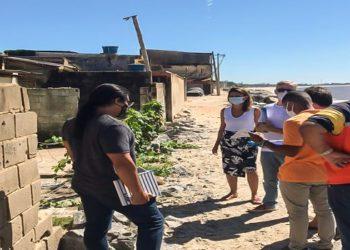 Foto: Divulgação / Secretaria Adjunta de Habitação A ação aconteceu na manhã desta quarta-feira (24)