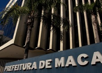 Fachada da Prefeitura. Macaé/RJ. Data: 26/06/2018. Foto: Rui Porto FIlho