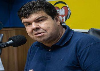 Entrevista do prefeito Welberth Rezende na rádio FM 101. Macaé/RJ. Data: 20/02/2021. Foto: Rui Porto Filho