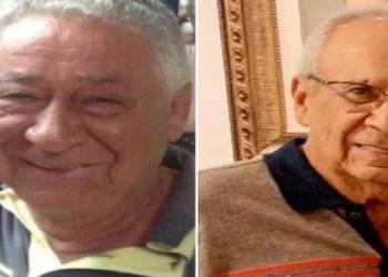 Irmãos Olímpio e Geraldo Alves de Sousa morreram em naufrágio no Pantanal Mato Grosso do Sul, segundo família Rio Verde Goiás — Foto: Reprodução/TV Anhanguera